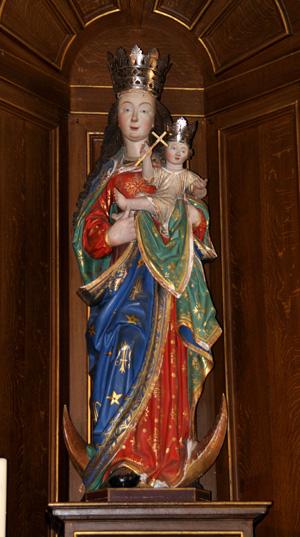 Statue de la Vierge Eglise d'Autre-Eglise